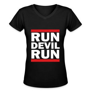 SNSD - Run Devil Run - Women's V-Neck T-Shirt