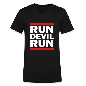 SNSD - Run Devil Run - Men's V-Neck T-Shirt by Canvas