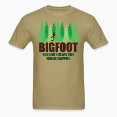 Bigfoot Sasquatch Hide and Seek World Champion T-Shirts