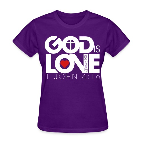 God is Love Tee - Womens - Women's T-Shirt
