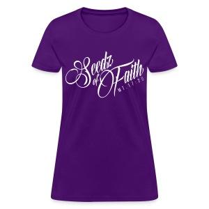 Seedz of Faith - Womens - Women's T-Shirt