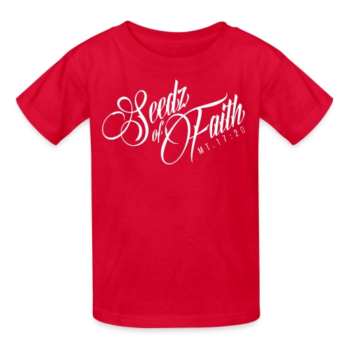 Seedz of Faith - Kids - Kids' T-Shirt
