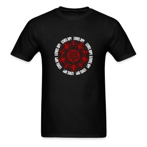 LUCIUS LEVEL UP RED  - Men's T-Shirt