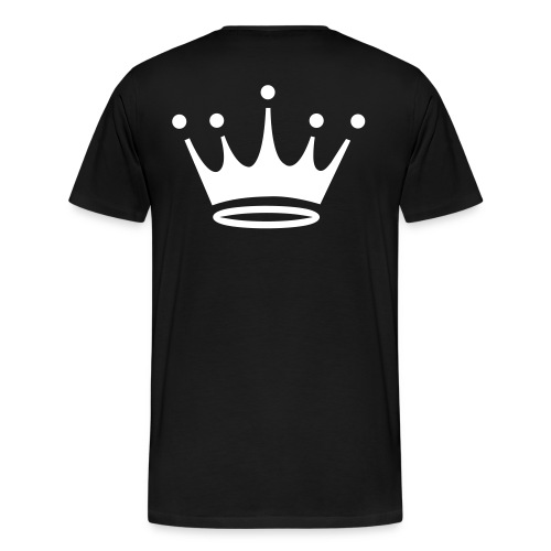 Obsidian King Black T-shirt - Men's Premium T-Shirt