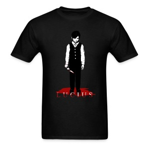 LUCIUS WITH KNIFE  - Men's T-Shirt