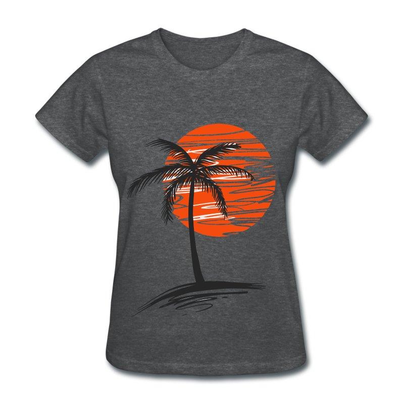 Palm Tree T Shirt Spreadshirt
