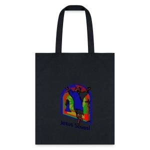 Jesus Saves Tote Bag - Tote Bag
