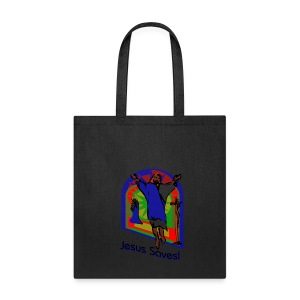 Jesus Saves Tote Bag - Tote Bag