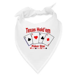 Texas Hold'em Poker Star Bandana - Bandana