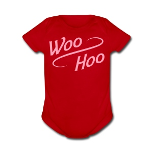 Baby Woo-Hoo One Piece - Short Sleeve Baby Bodysuit