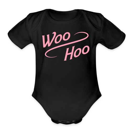 Baby Woo-Hoo One Piece - Organic Short Sleeve Baby Bodysuit