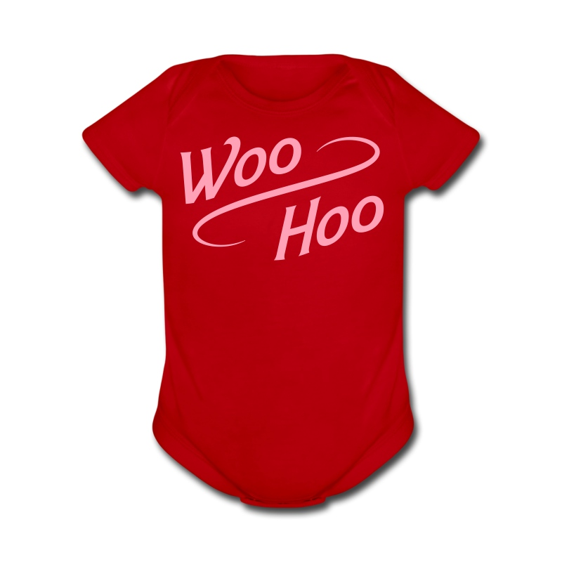 Baby Woo-Hoo One Piece - Short Sleeve Baby Bodysuit