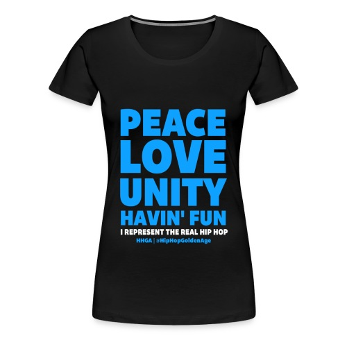 I Represent The Real Hip Hop - Women's Premium T-Shirt