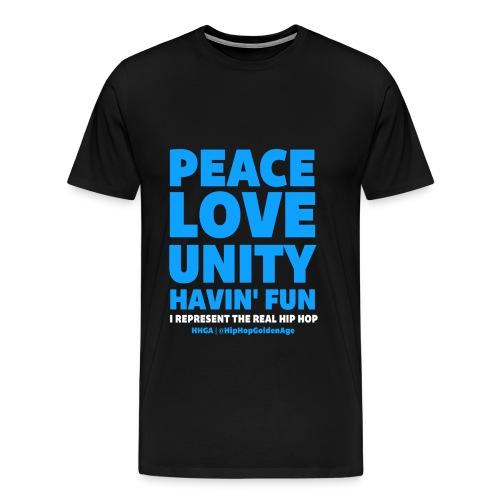 I Represent The Real Hip Hop - Men's Premium T-Shirt