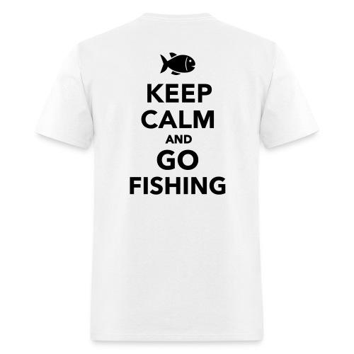Keep Calm & Go Fishing T-Shirt - Men's T-Shirt