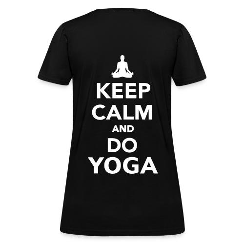 Keep Calm & Do Yoga T-Shirt - Women's T-Shirt