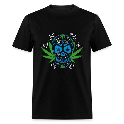 Weed Skull T-Shirt - Men's T-Shirt