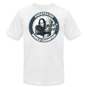 Bigfoot tee - Men's T-Shirt by American Apparel