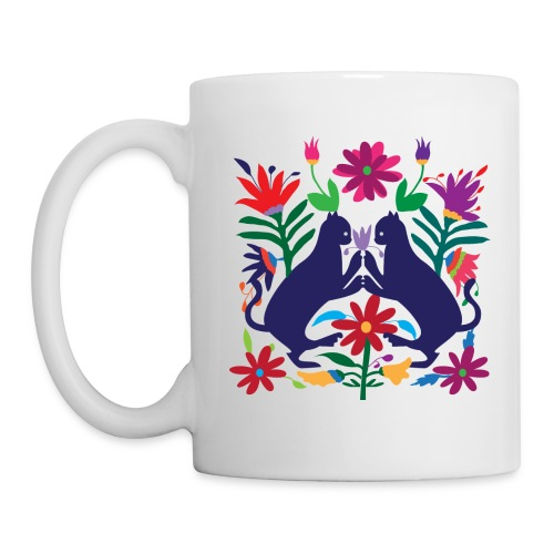 Otomi Cats Mug - Coffee/Tea Mug