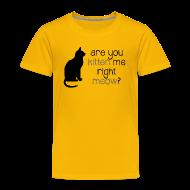 Baby & Toddler Shirts ~ Toddler Premium T-Shirt ~ Right Meow Toddler Tee