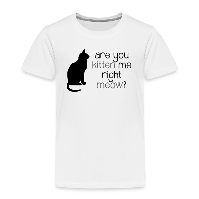 Right Meow Toddler Tee