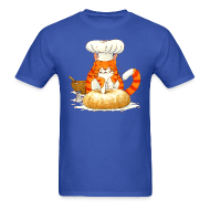 T-Shirts ~ Men's T-Shirt ~ Chef Cat Classic Tee