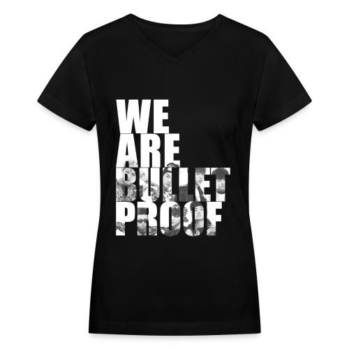 BTS - Bulletproof - Women's V-Neck T-Shirt