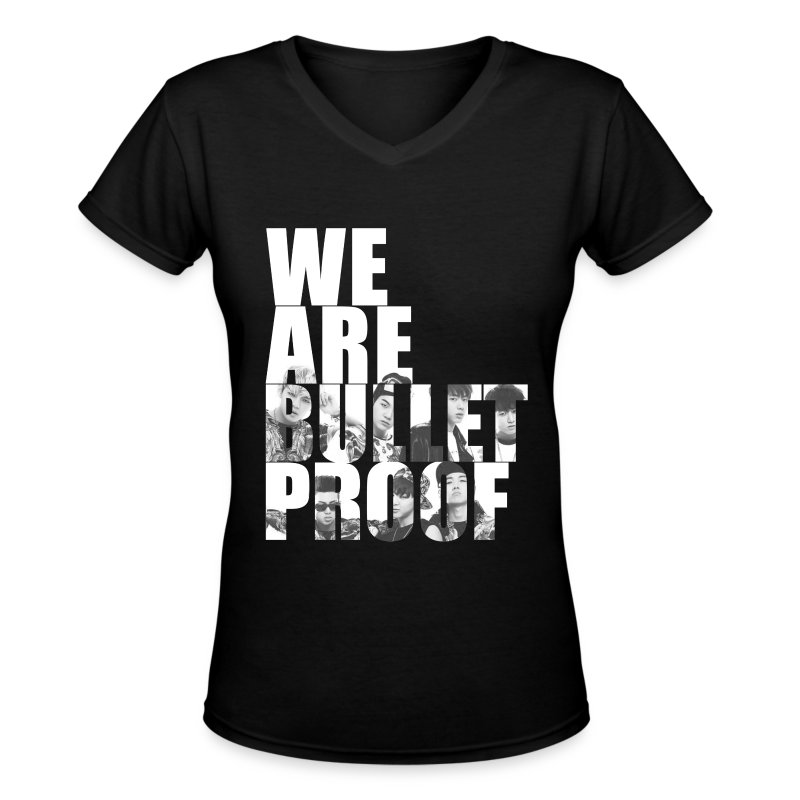 BTS - Bulletproof - Women's V-Neck T-Shirt