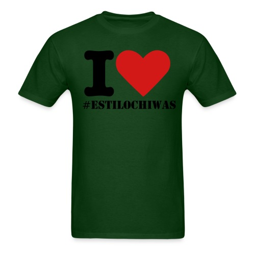 I Love #EstiloChiwas Men's - Men's T-Shirt
