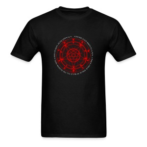 PENTAGRAM AND REVELATION 12:5 - Men's T-Shirt