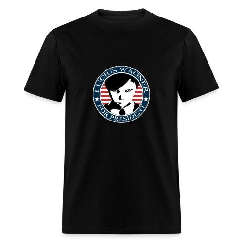 LUCIUS W FOR PRESIDENT C - Men's T-Shirt