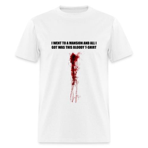 I WENT TO A MANSION - Men's T-Shirt