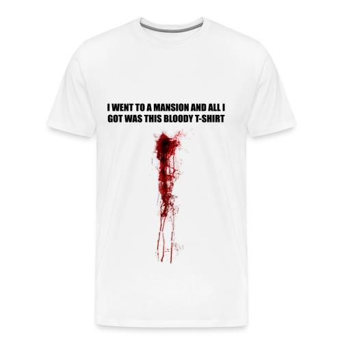 I WENT TO A MANSION - Men's Premium T-Shirt