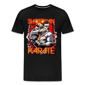 Shotokan Karate Design - Men's Premium T-Shirt
