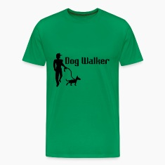 Dog Walker Men's Premium T-Shirt