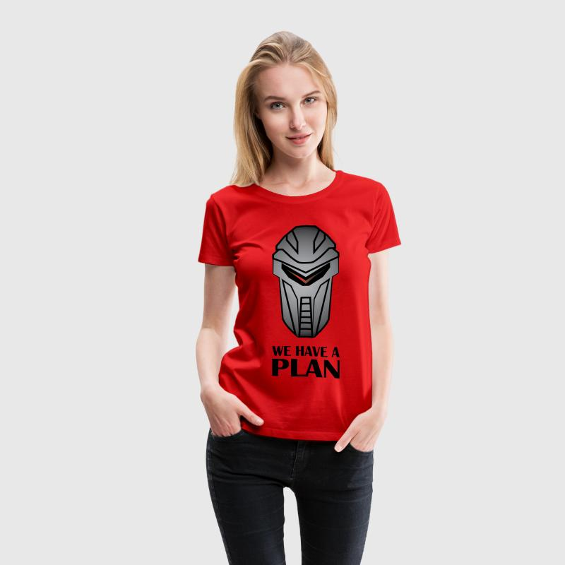 We Have A Plan Cylon Women's T-Shirts - Women's Premium T-Shirt