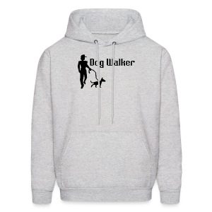 Dog Walker Men's Crewneck Sweatshirt - Men's Hoodie