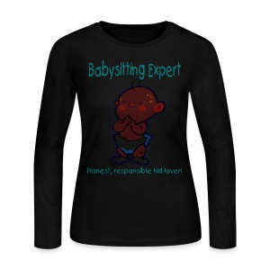 Babysitting Expert Women's Long Sleeve T-Shirt - Women's Long Sleeve Jersey T-Shirt