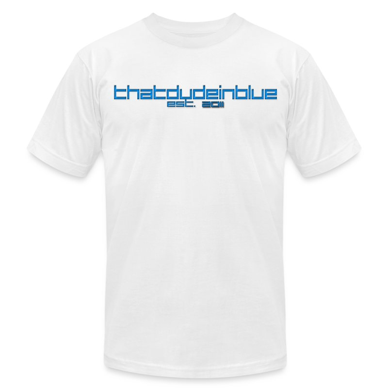 Thatdudenblue Original - Men's T-Shirt by American Apparel