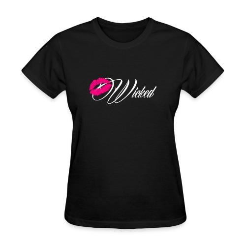 Wicked Kiss Women's T-Shirt - Women's T-Shirt