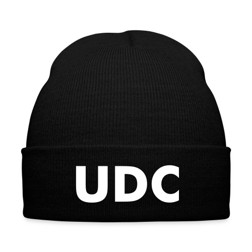UDC Beanie - Knit Cap with Cuff Print