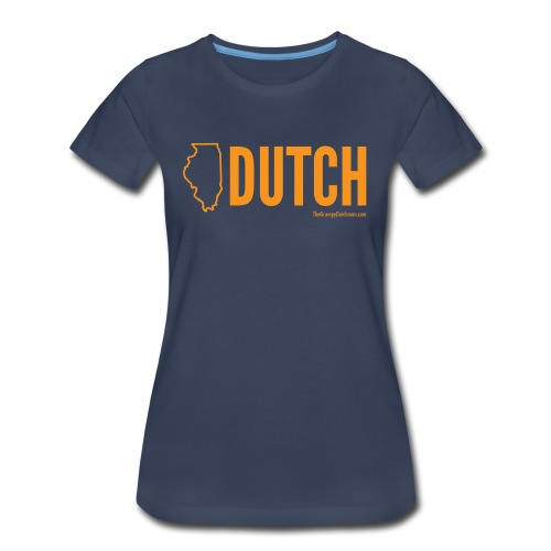 Illinois Dutch (orange) - Women's Premium T-Shirt
