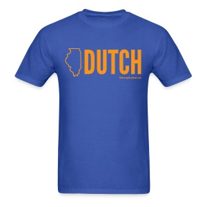 Illinois Dutch (orange) - Men's T-Shirt