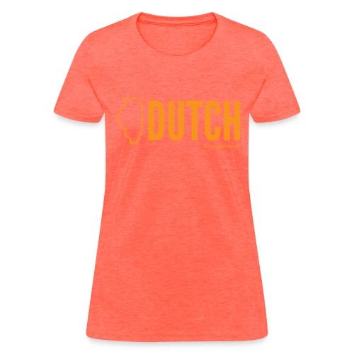 Illinois Dutch (orange) - Women's T-Shirt