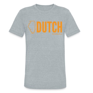 Illinois Dutch (orange) - Unisex Tri-Blend T-Shirt by American Apparel
