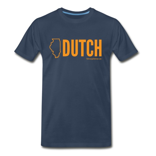 Illinois Dutch (orange) - Men's Premium T-Shirt
