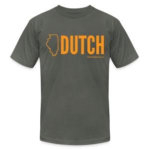 Illinois Dutch (orange) - Men's Fine Jersey T-Shirt