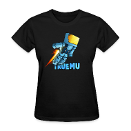 Women's T-Shirts ~ Women's T-Shirt ~ Woman's T-Shirt: Jetpack TrueMU 2