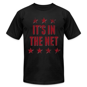 It's in the Net! - Men's - Men's T-Shirt by American Apparel