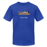 T-Shirts ~ Men's T-Shirt by American Apparel ~ Jeep Stuck in Mud - Mens T-shirt by American Apparel